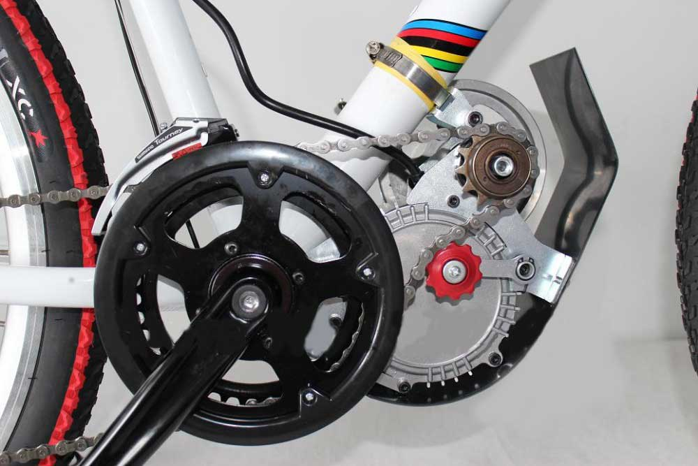 Двигатель на электровелосипед