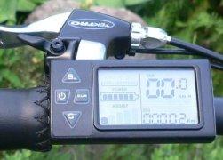 Мультифункциональный дисплей контроля и управления велосипедом