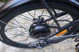 моторт BAFANG - заднее колесо велосипеда