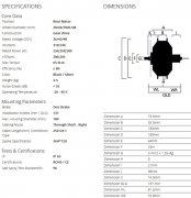 Технические характеристики мотора Bafang RM G070.500.D