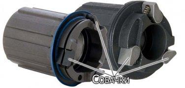 Конструкция втулки под кассету