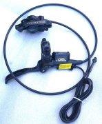 В качестве опции: Датчик срабатывания для моноблока и  гидравлического тормозова (+10)    Усилитель дропаута (+10):  Гидравлический тормоз с датчиком срабатывания TEKTRO AURIGA e-COMP (+95)